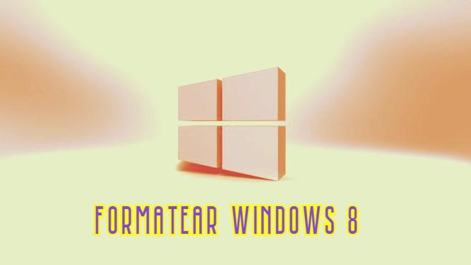 Como formatear una pc windows 8