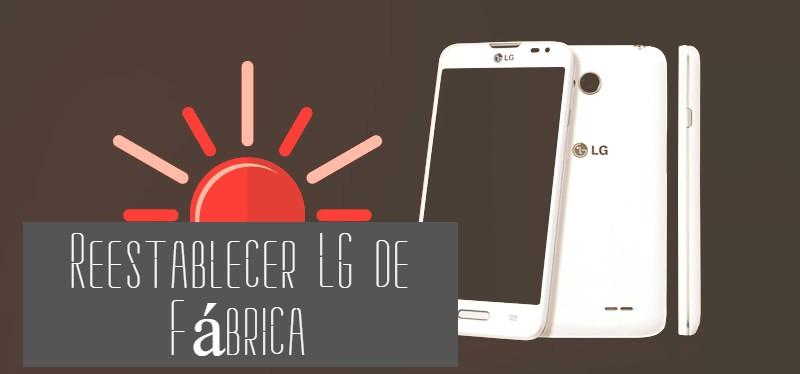 formatear celular LG