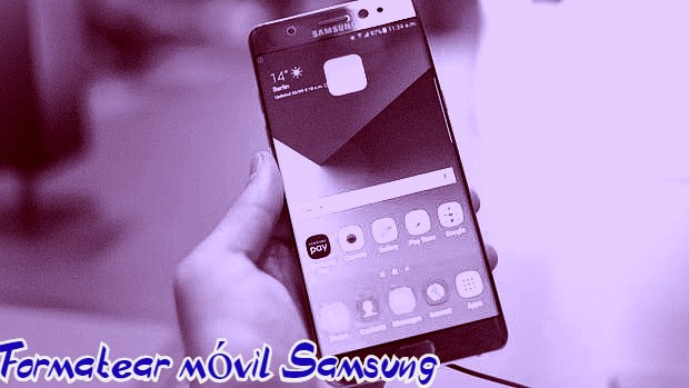 como formatear un Samsung